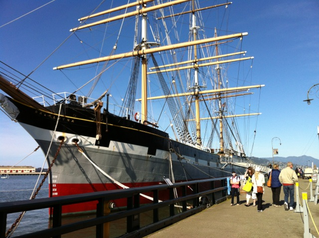 Sailing ship Balclutha